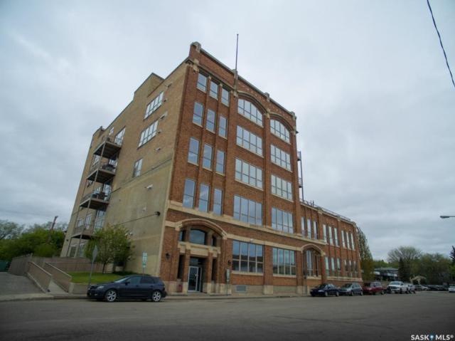 211 D Avenue N #103, Saskatoon, SK S7H 1M7 (MLS #SK743742) :: The A Team