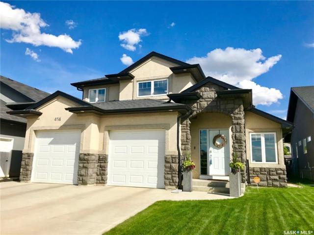 414 Willowgrove Crescent, Saskatoon, SK S7W 0A7 (MLS #SK744500) :: The A Team