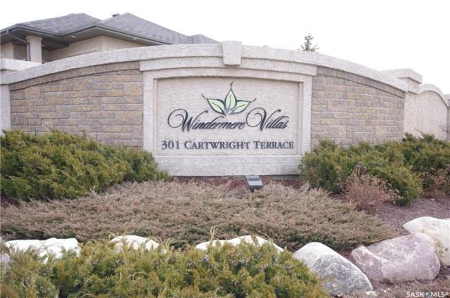 301 Cartwright Terrace #3, Saskatoon, SK S7T 1B1 (MLS #SK744702) :: The A Team