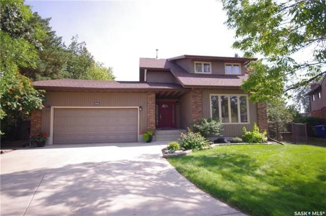 214 Quill Court, Saskatoon, SK S7K 4V2 (MLS #SK745317) :: The A Team