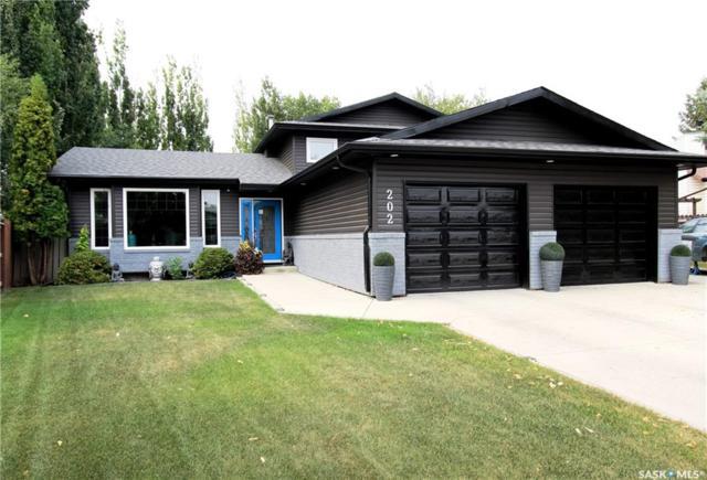 202 Brunst Crescent, Saskatoon, SK S7N 3S6 (MLS #SK745545) :: The A Team