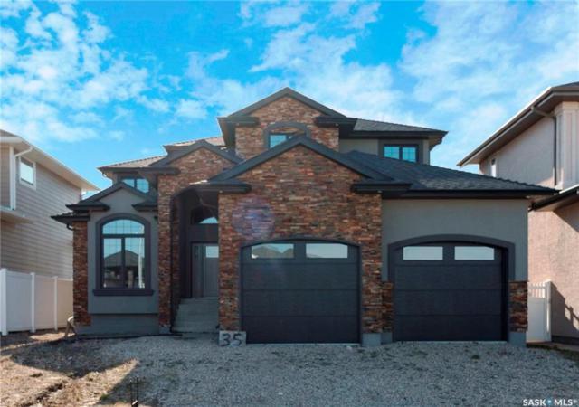 35 Brookmore View, Saskatoon, SK S7V 0B1 (MLS #SK745983) :: The A Team