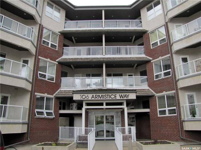 106 Armistice Way #316, Saskatoon, SK S7J 2H4 (MLS #SK747747) :: The A Team