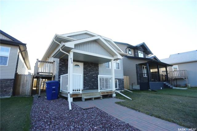 419 Padget Way, Saskatoon, SK S7R 0B3 (MLS #SK750459) :: The A Team
