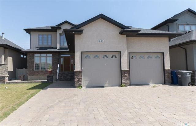 850 Ledingham Crescent, Saskatoon, SK S7V 0B7 (MLS #SK753807) :: The A Team