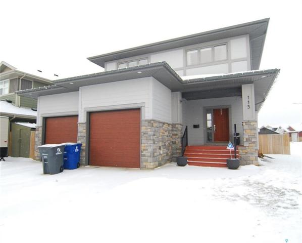 115 Pritchard Crescent, Saskatoon, SK S7V 0E9 (MLS #SK754159) :: The A Team
