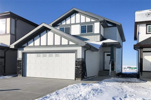 247 Dagnone Lane, Saskatoon, SK S7V 0R1 (MLS #SK754884) :: The A Team