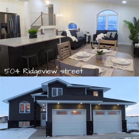 504 Ridgeview Street, Swift Current, SK S9H 5R9 (MLS #SK755169) :: The A Team