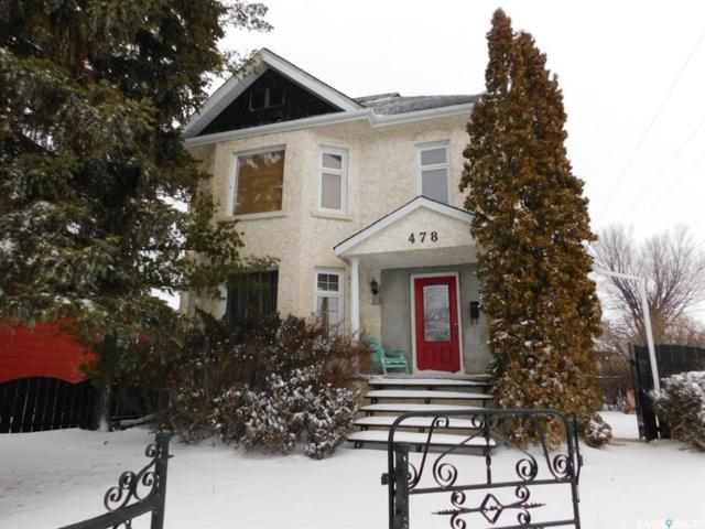 478 Fairford Street E, Moose Jaw, SK S6H 0E5 (MLS #SK757273) :: The A Team