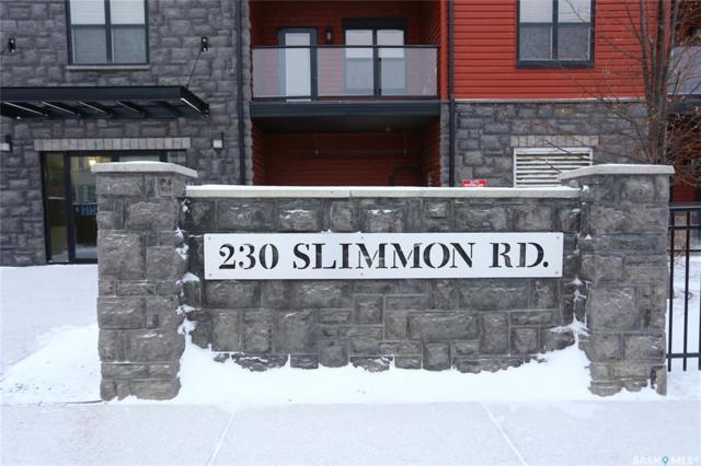 230 Slimmon Road #312, Saskatoon, SK S7V 0B3 (MLS #SK757436) :: The A Team