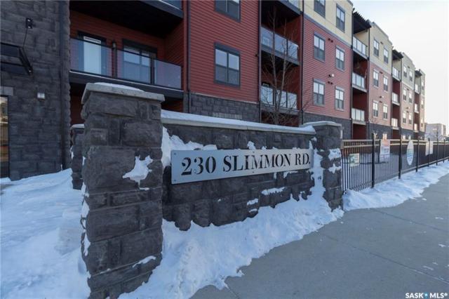 230 Slimmon Road #107, Saskatoon, SK S7V 0B3 (MLS #SK757956) :: The A Team