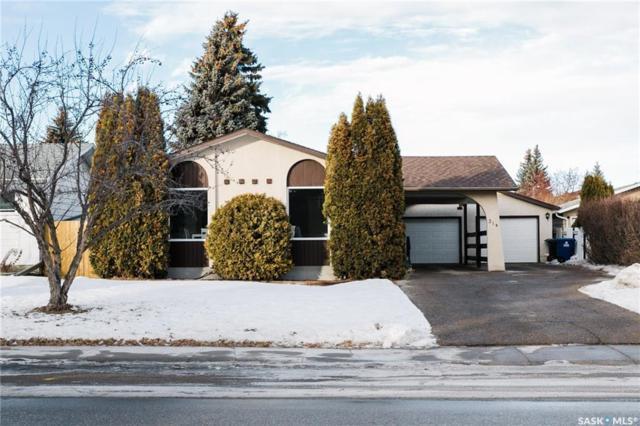 314 Assiniboine Drive, Saskatoon, SK S7K 3Z2 (MLS #SK758145) :: The A Team