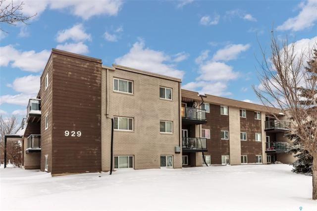 929 Northumberland Avenue #207, Saskatoon, SK S7L 3W8 (MLS #SK758322) :: The A Team