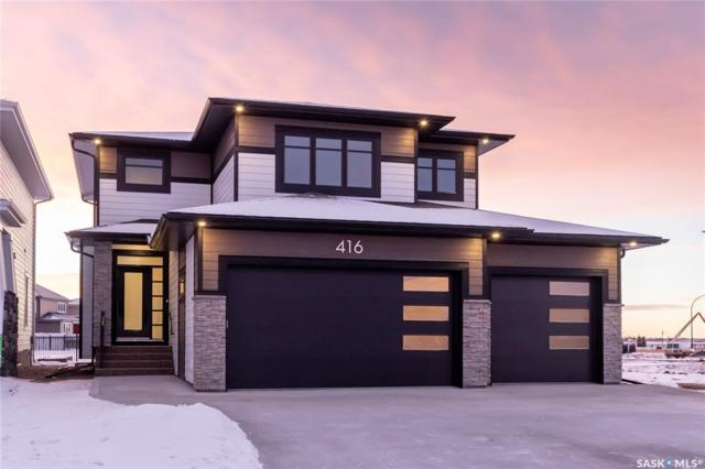416 Dubois Terrace, Saskatoon, SK S7V 0R2 (MLS #SK758686) :: The A Team