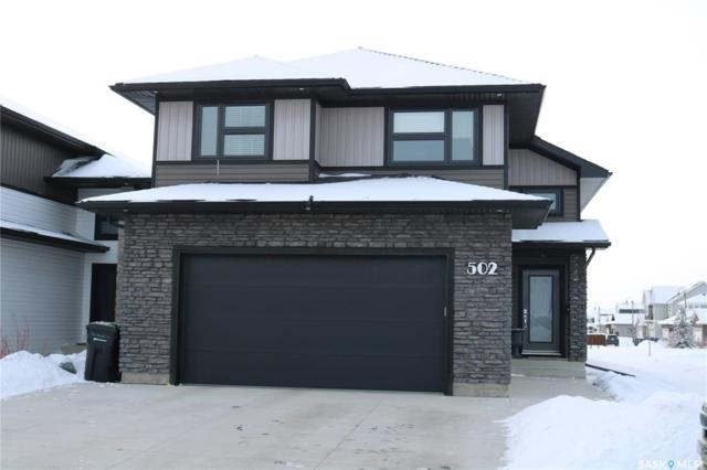 502 Kolynchuk Crescent, Saskatoon, SK S7T 0W4 (MLS #SK758916) :: The A Team