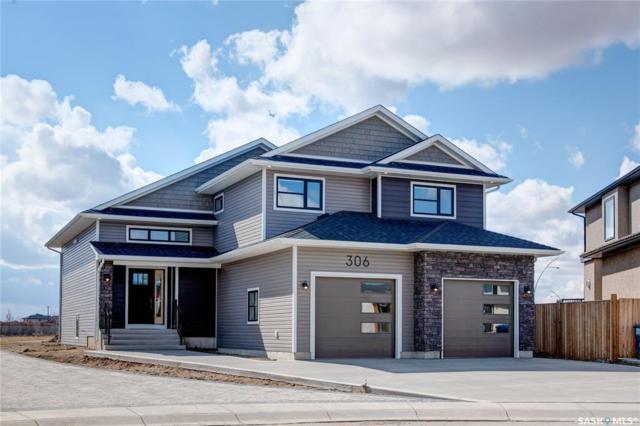 306 Baltzan Cove, Saskatoon, SK S7W 0G7 (MLS #SK767369) :: The A Team