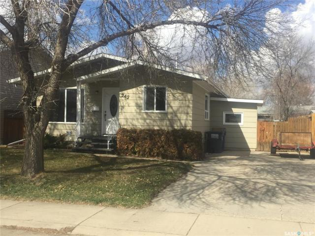 242 Johnson Crescent, Saskatoon, SK S7L 5P7 (MLS #SK767490) :: The A Team