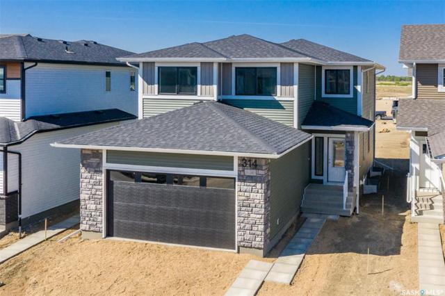 314 Germain Manor, Saskatoon, SK S7M 0T6 (MLS #SK773225) :: The A Team