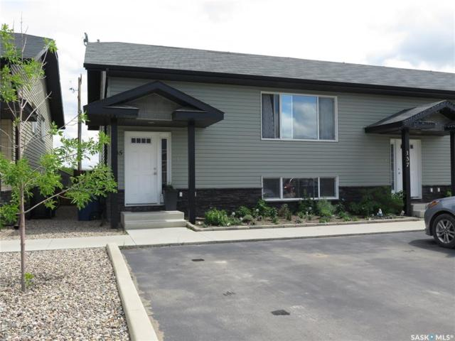 135 Guenther Crescent, Warman, SK S0K 0A1 (MLS #SK777445) :: The A Team