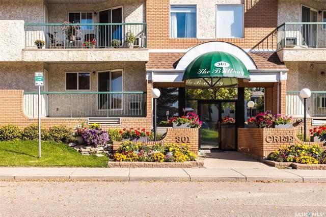 301 Cree Crescent #102, Saskatoon, SK S7K 7Y3 (MLS #SK786768) :: The A Team