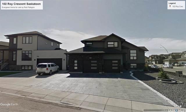 102 Roy Crescent, Saskatoon, SK S7W 0K9 (MLS #SK787193) :: The A Team