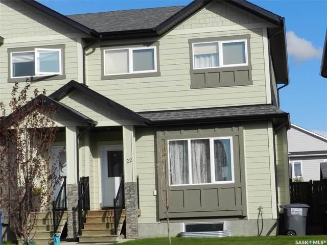 111 Rosewood Gate N #22, Saskatoon, SK S7V 0E5 (MLS #SK787993) :: The A Team