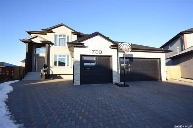 738 Pichler Cove, Saskatoon, SK S7V 0G2 (MLS #SK792974) :: The A Team