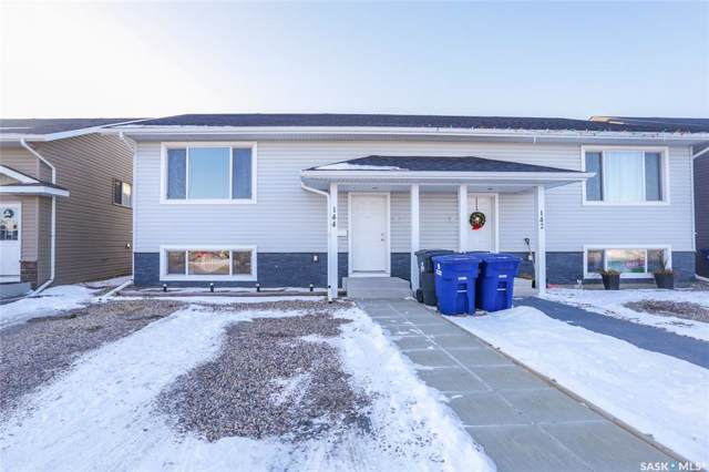 144 Guenther Crescent, Warman, SK S0K 4S0 (MLS #SK794095) :: The A Team