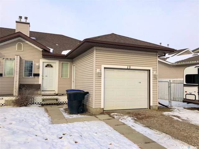 15 Columbia Drive, Saskatoon, SK S7K 1E3 (MLS #SK795665) :: The A Team
