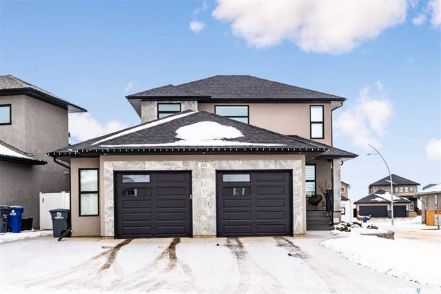 202 Mahabir Court, Saskatoon, SK S7W 0J5 (MLS #SK796106) :: The A Team
