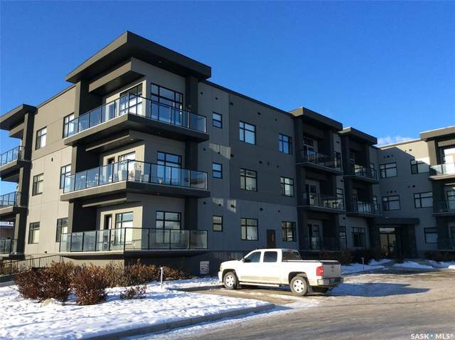 502 Perehudoff Crescent #102, Saskatoon, SK S7N 4H6 (MLS #SK804049) :: The A Team