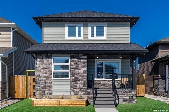 414 Veltkamp Crescent, Saskatoon, SK S7T 0S2 (MLS #SK804440) :: The A Team