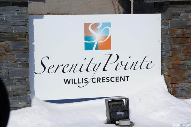 102 Willis Crescent #1103, Saskatoon, SK S7T 0T6 (MLS #SK804538) :: The A Team