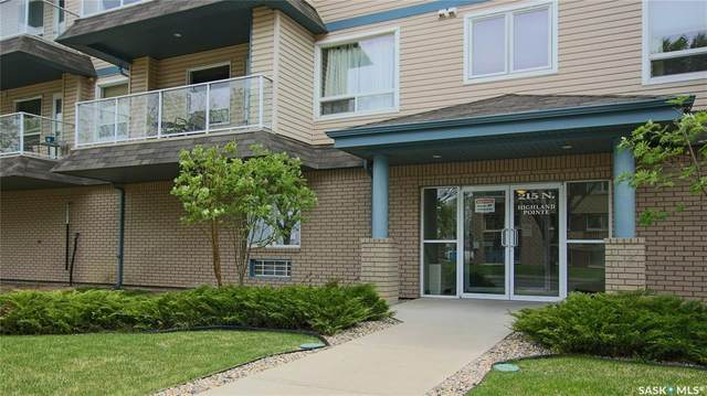 215 Smith Street N #203, Regina, SK S4R 3B5 (MLS #SK809451) :: The A Team