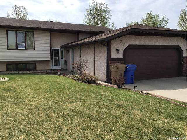 27 Faunt Bay, Regina, SK S4X 2J8 (MLS #SK809508) :: The A Team
