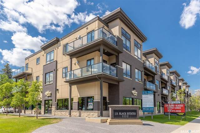 1132 College Drive #204, Saskatoon, SK S7N 0W2 (MLS #SK816826) :: The A Team