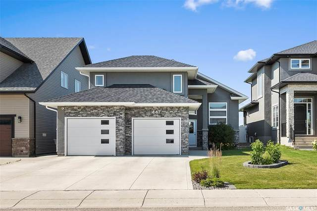 447 Mahabir Crescent, Saskatoon, SK S7W 0J7 (MLS #SK821002) :: The A Team