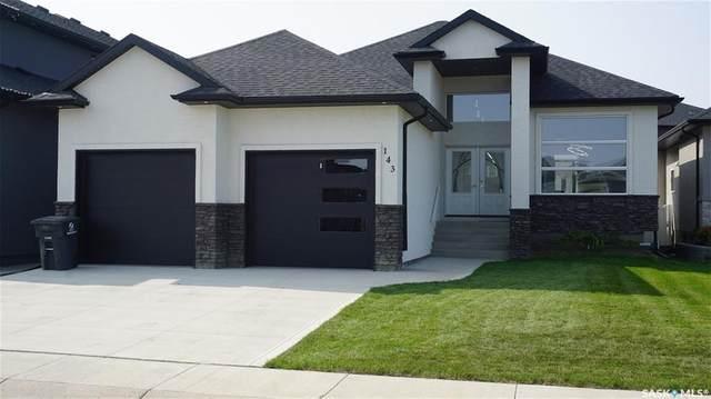 143 Bartlett Bay, Saskatoon, SK S7V 0H6 (MLS #SK827452) :: The A Team