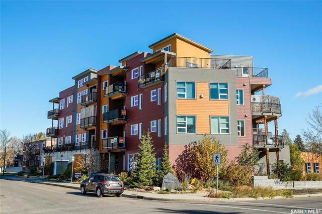 530 J Avenue S #307, Saskatoon, SK S7M 2A8 (MLS #SK830557) :: The A Team