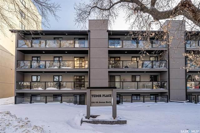 536 4th Avenue N #405, Saskatoon, SK S7K 2M7 (MLS #SK834063) :: The A Team
