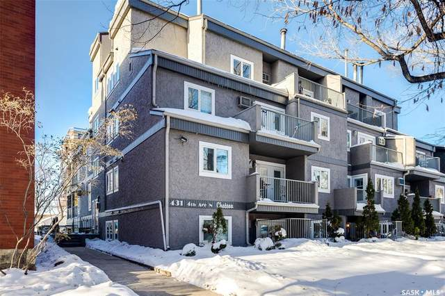 431 4th Avenue #404, Saskatoon, SK S7K 2M4 (MLS #SK834837) :: The A Team