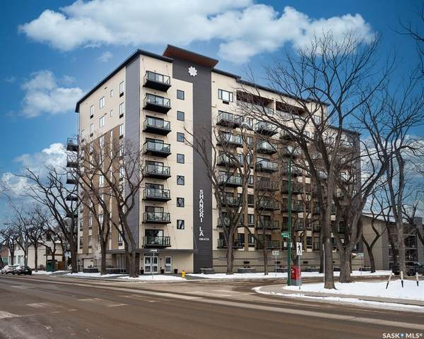 550 4th Avenue N #708, Saskatoon, SK S7K 2M7 (MLS #SK837789) :: The A Team