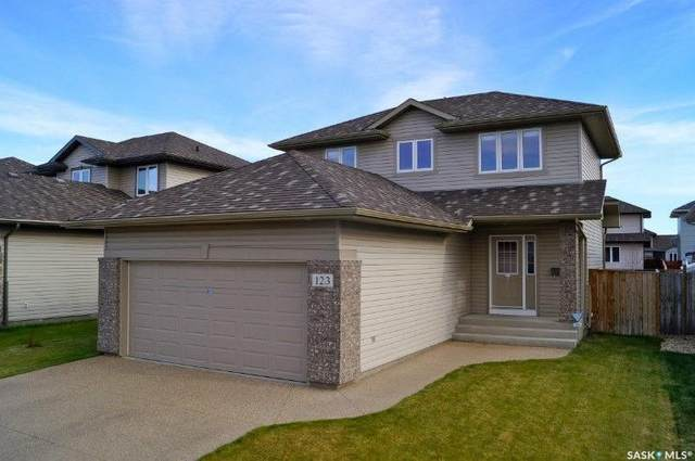 123 Borlase Cove, Saskatoon, SK S7T 0B7 (MLS #SK838671) :: The A Team