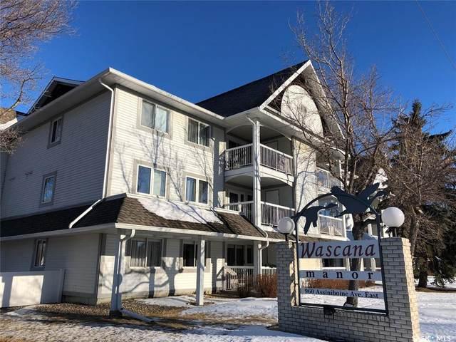 960 Assiniboine Avenue #210, Regina, SK S4V 2P8 (MLS #SK838798) :: The A Team