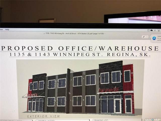 1143 Winnipeg Street, Regina, SK S4R 1J5 (MLS #SK840855) :: The A Team