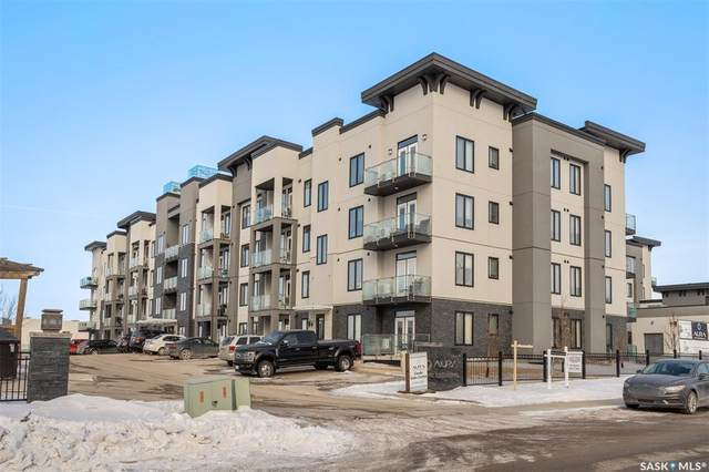 2101 Heseltine Road #403, Regina, SK S4V 3H1 (MLS #SK841927) :: The A Team