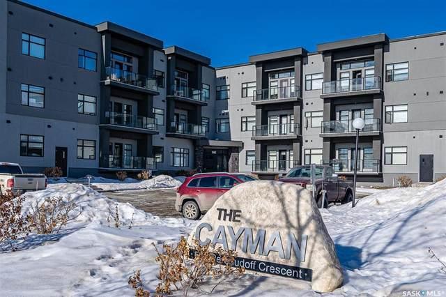 502 Perehudoff Crescent #305, Saskatoon, SK S7N 4H6 (MLS #SK842505) :: The A Team