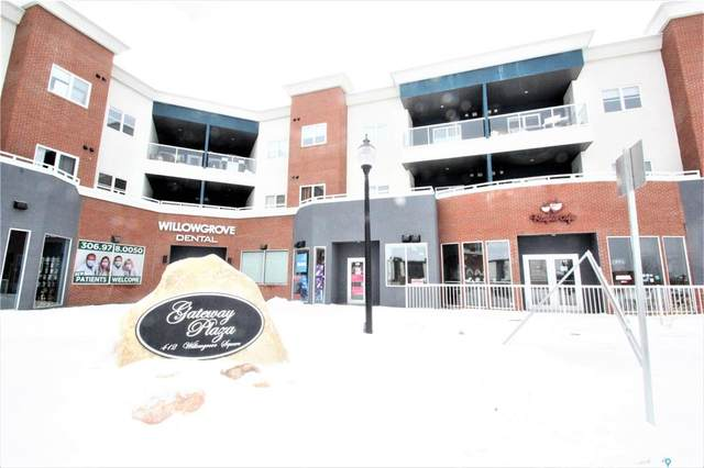 412 Willowgrove Square #109, Saskatoon, SK S7W 0E5 (MLS #SK842949) :: The A Team