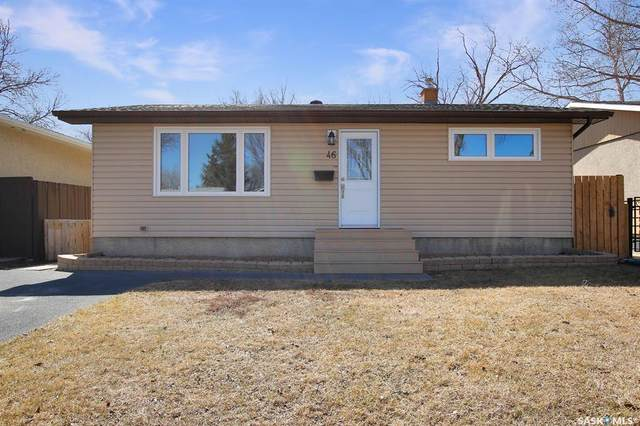 46 Forsyth Crescent, Regina, SK S4R 5L7 (MLS #SK849224) :: The A Team
