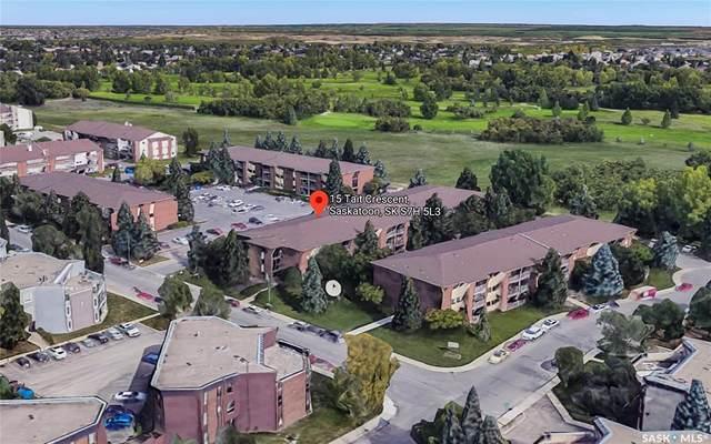 315 Tait Crescent #215, Saskatoon, SK S7H 5L6 (MLS #SK850269) :: The A Team